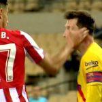 【西甲】巴萨4-0拿下国王杯!西媒:毕巴后卫1巴掌换来梅西单场2次破门