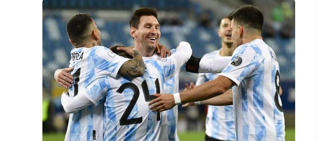 【美洲杯】阿根廷3-09分钟2球!2射1传,神级吊射羞辱门将,还迎1里程碑